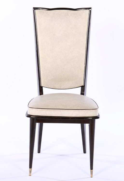 ITALIAN MID CENTURY DINING CHAIRS UPHOLSTERED - 3