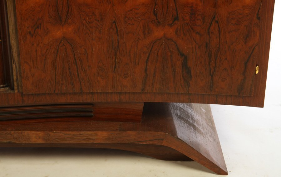 FRENCH ART DECO SIDEBOARD INSET MARBLE TOP 1930 - 4