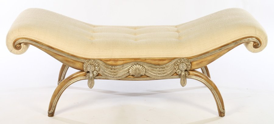 ART DECO BENCH MANNER OF ARMAND-ALBERT RATEAU - 2