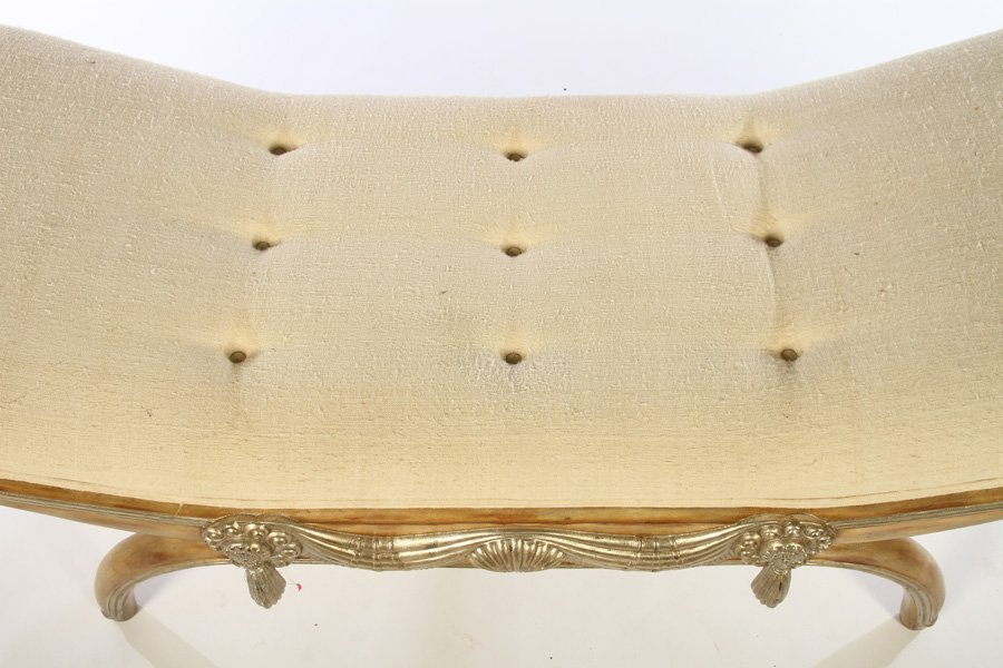 ART DECO BENCH MANNER OF ARMAND-ALBERT RATEAU - 3