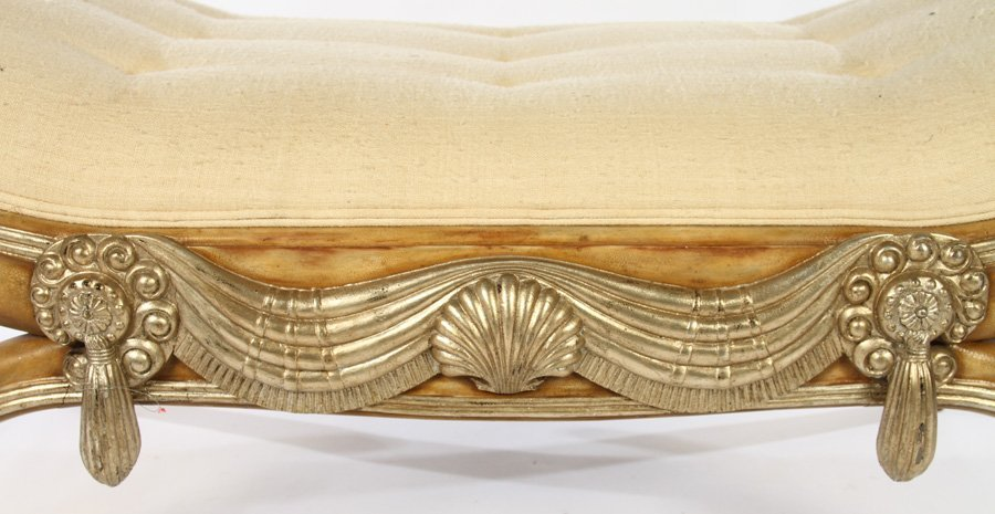 ART DECO BENCH MANNER OF ARMAND-ALBERT RATEAU - 4