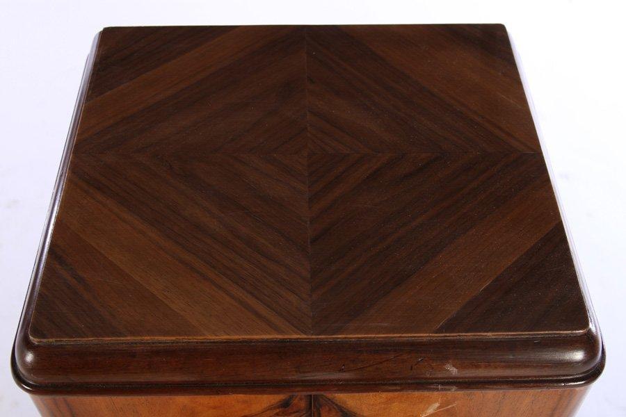 ART DECO VERTICAL FILE CABINET 2 DOORS 1930 - 3