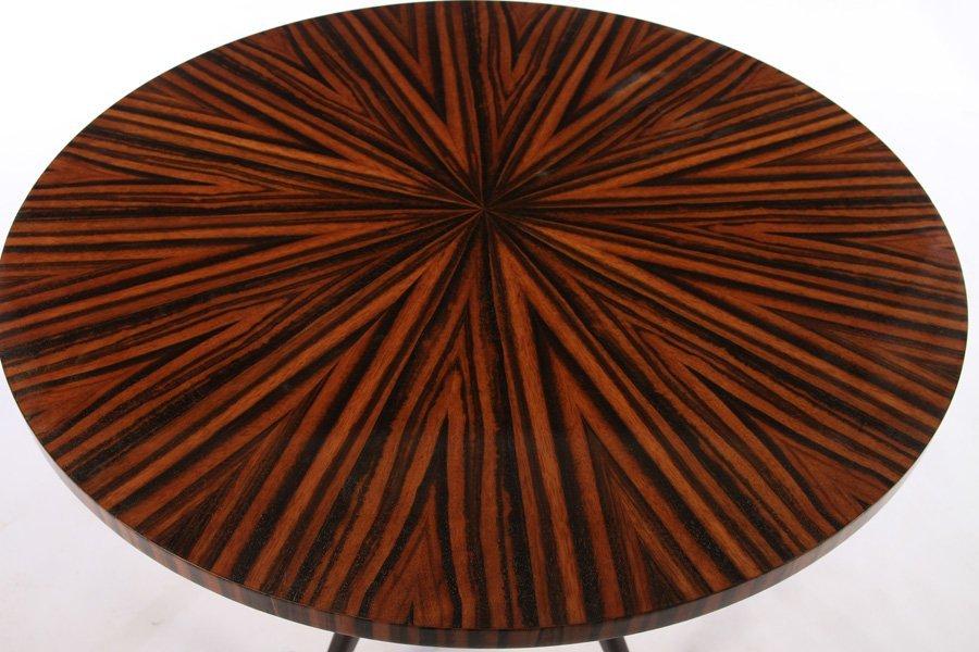 ITALIAN PEDESTAL TABLE ROSEWOOD TOP 1950 - 2