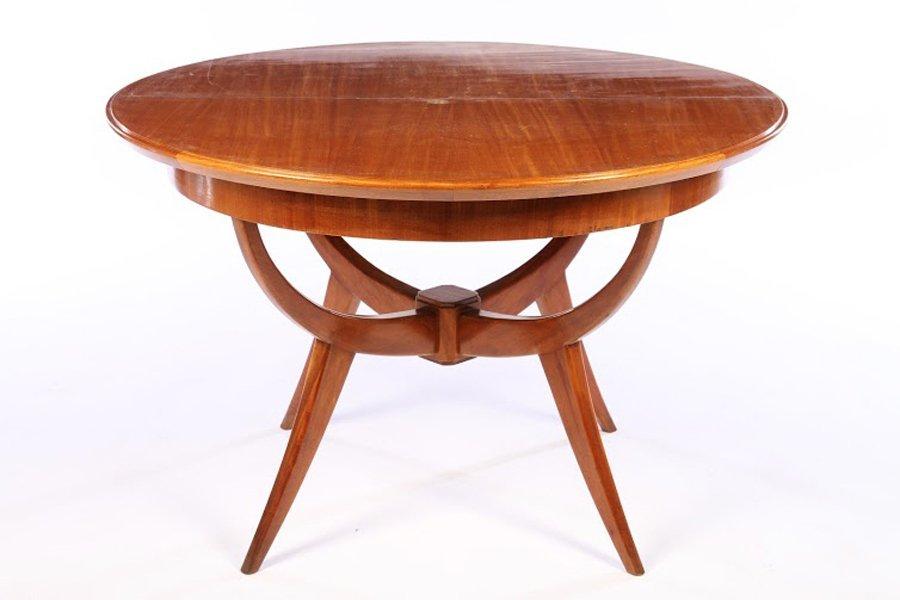 ITALIAN MID CENTURY ROUND DINING TABLE 1960