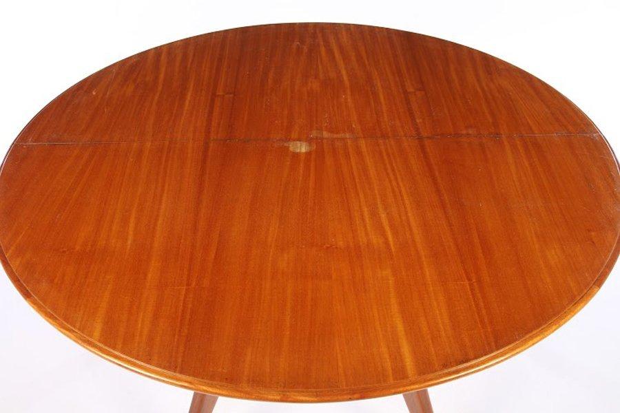 ITALIAN MID CENTURY ROUND DINING TABLE 1960 - 2