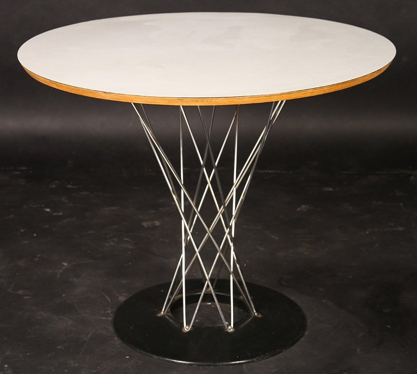 LABELED KNOLL NOGUCHI CYCLONE DINING TABLE