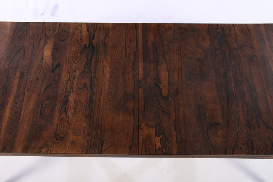 DANISH LABELED ROSEWOOD COFFEE TABLE 1970 - 3