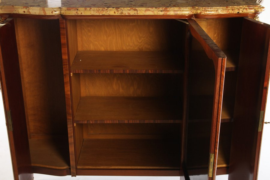 FRENCH SATINWOOD INLAID CABINET 1900 - 6