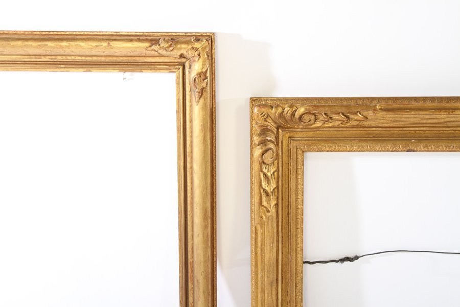 LOT OF EIGHT GILT WOOD FRAMES 19TH CENTURY - 6
