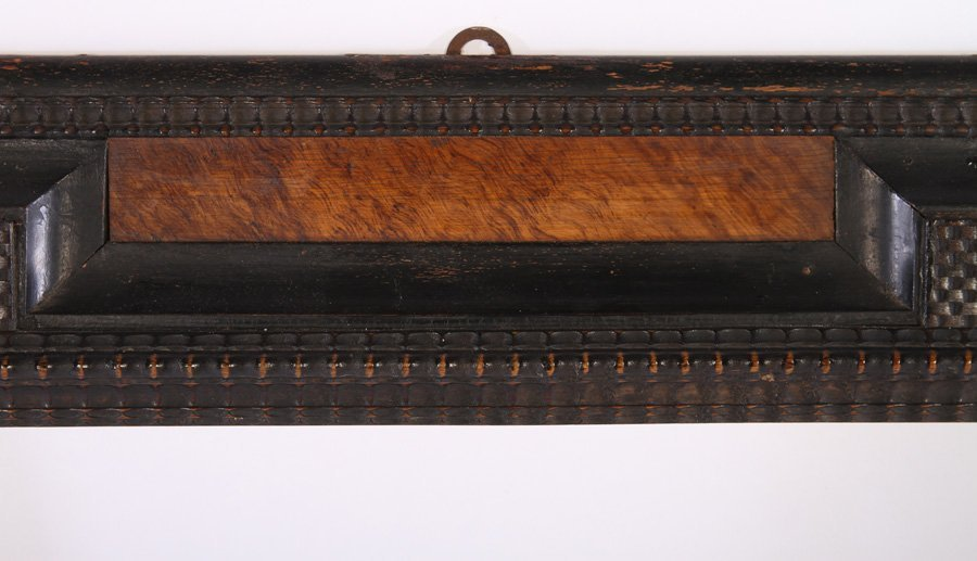 DUTCH STYLE CARVED WOODEN FRAME CIRCA 1940 - 3