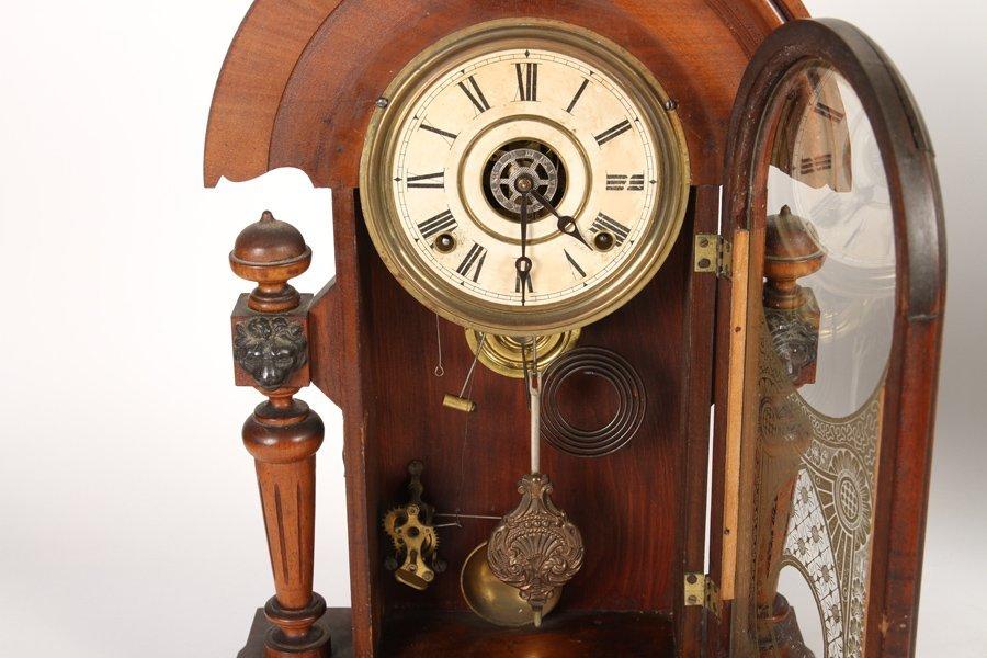 2 VICTORIAN CLOCKS BY GILBERT & INGRAHAM C 1890 - 3