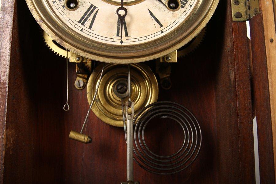 2 VICTORIAN CLOCKS BY GILBERT & INGRAHAM C 1890 - 4