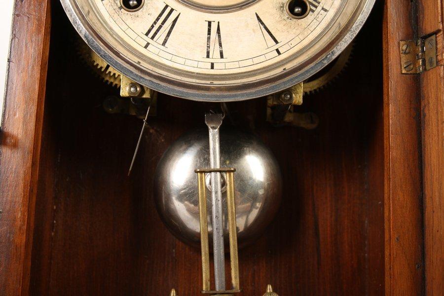 2 VICTORIAN CLOCKS BY GILBERT & INGRAHAM C 1890 - 7