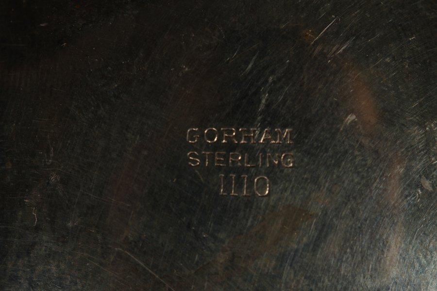 16 PORCELAIN PLATES & 6 STERLING ITEMS C 1930 - 7
