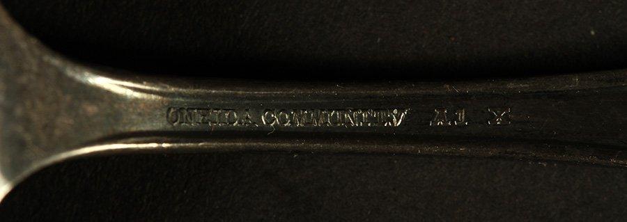 10 SOUVENIR SPOONS C 1900 SILVER 5.595 TROY OZ - 5