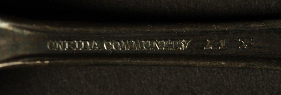 10 SOUVENIR SPOONS C 1900 SILVER 5.595 TROY OZ - 6