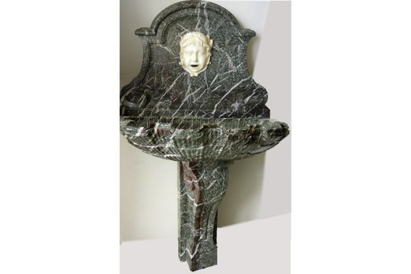 BELLEPOQUE FRENCH MARBLE SHELL   WALL FOUNTAIN C 1900