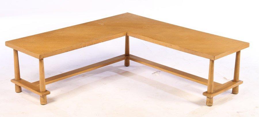 LABELED T.H. ROBSJOHN GIBBINGS COFFEE TABLE C1960