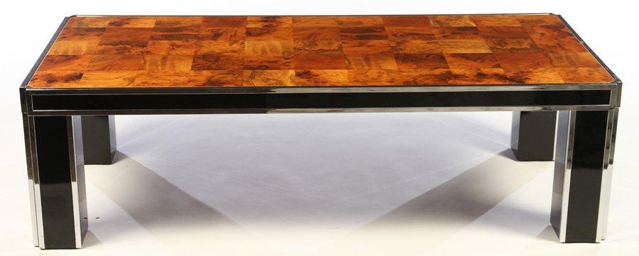PIERRE CARDIN MID CENTURY COFFEE TABLE 1970 - 2