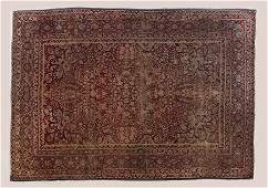 GOOD ANTIQUE PERSIAN ORIENTAL ROOM SIZE RUG