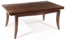 FRENCH ART DECO MACASSAR DINING TABLE 1940
