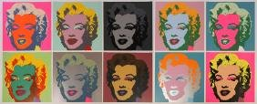 """AFTER ANDY WARHOL """"MARILYN PORTFOLIO"""" COLLECTION"""