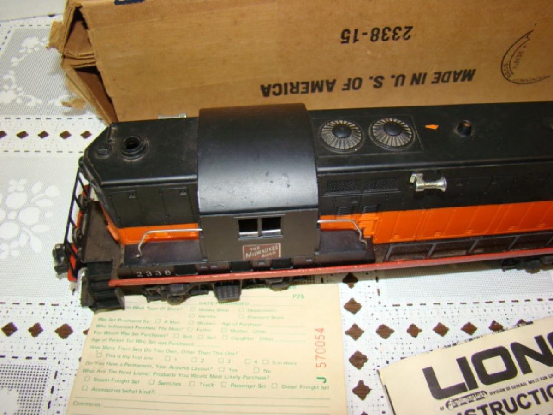 LIONEL TRAIN LOCOMOTIVE-THE MILWAUKEE ROAD - 10