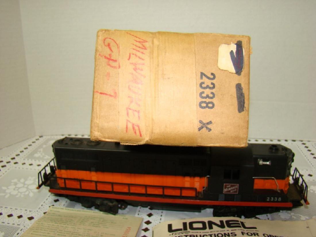 LIONEL TRAIN LOCOMOTIVE-THE MILWAUKEE ROAD - 4