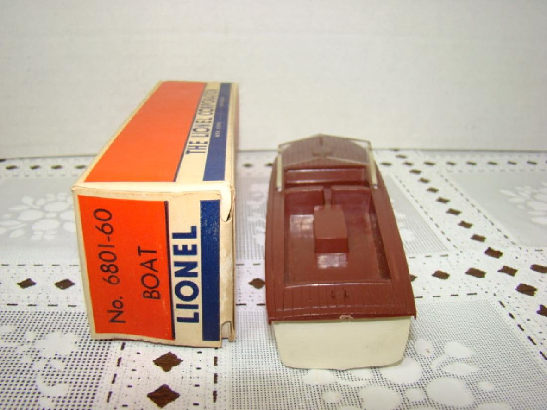 LIONEL TRAINS- BOAT IN ORIGINAL BOX - 3