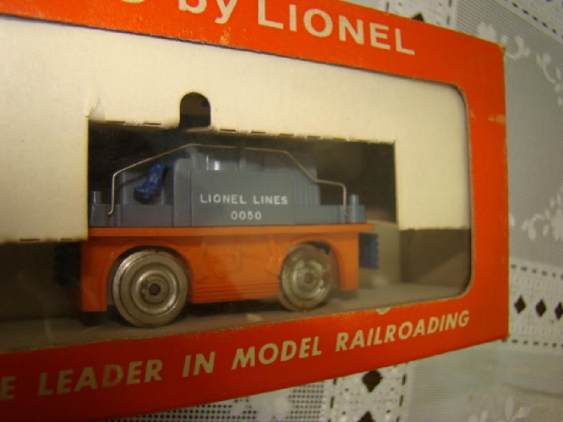 HO SCALE  ORANGE GANG CAR NIB BY LIONEL - 6
