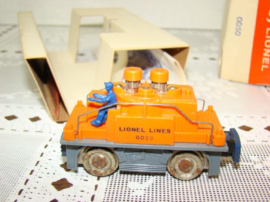 LIONEL HO SCALE ORANGE GANG CAR NIB - 4