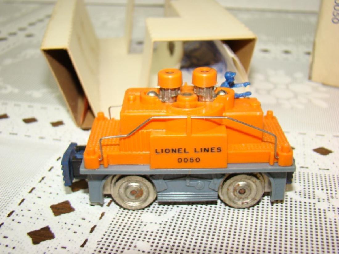 LIONEL HO SCALE ORANGE GANG CAR NIB - 5