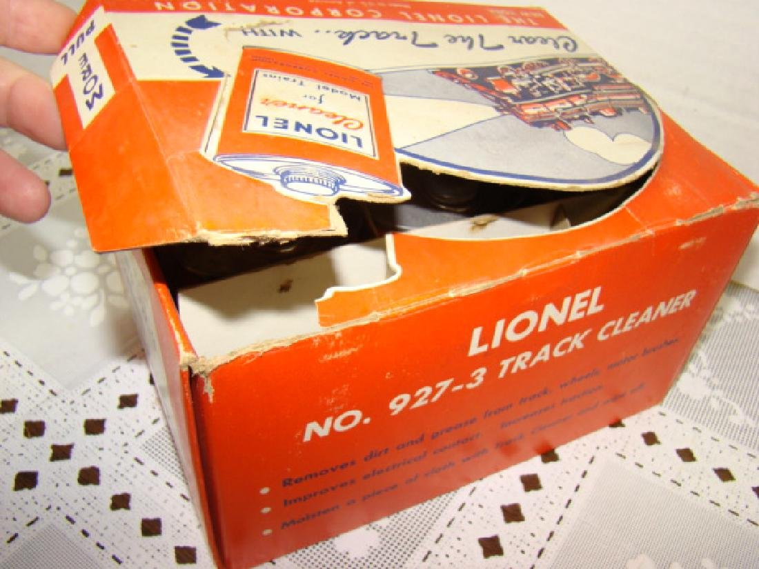 7 LIONEL TRACK CLEANER FLUID IN ORIGINAL 12 PACK B - 3