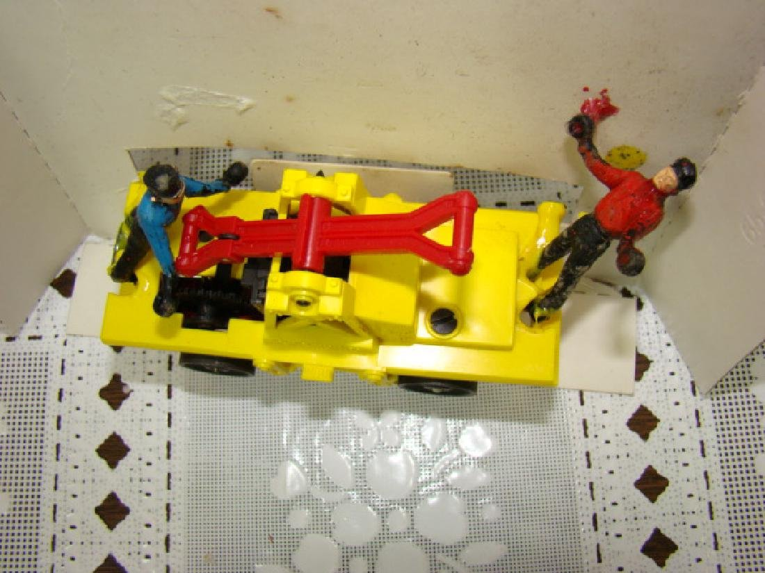 O SCALE  MOTORIZED HAND CAR  BY LIONEL - IN BOX - 3