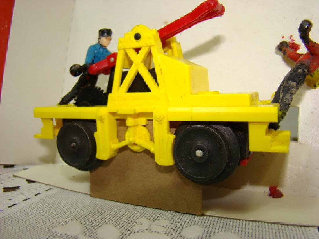 O SCALE  MOTORIZED HAND CAR  BY LIONEL - IN BOX - 4