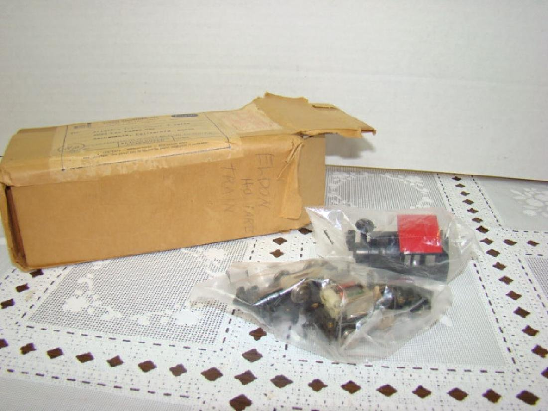 ELDON HO LOCOMOTIVE TRAIN PARTS NEW IN PACKAGES
