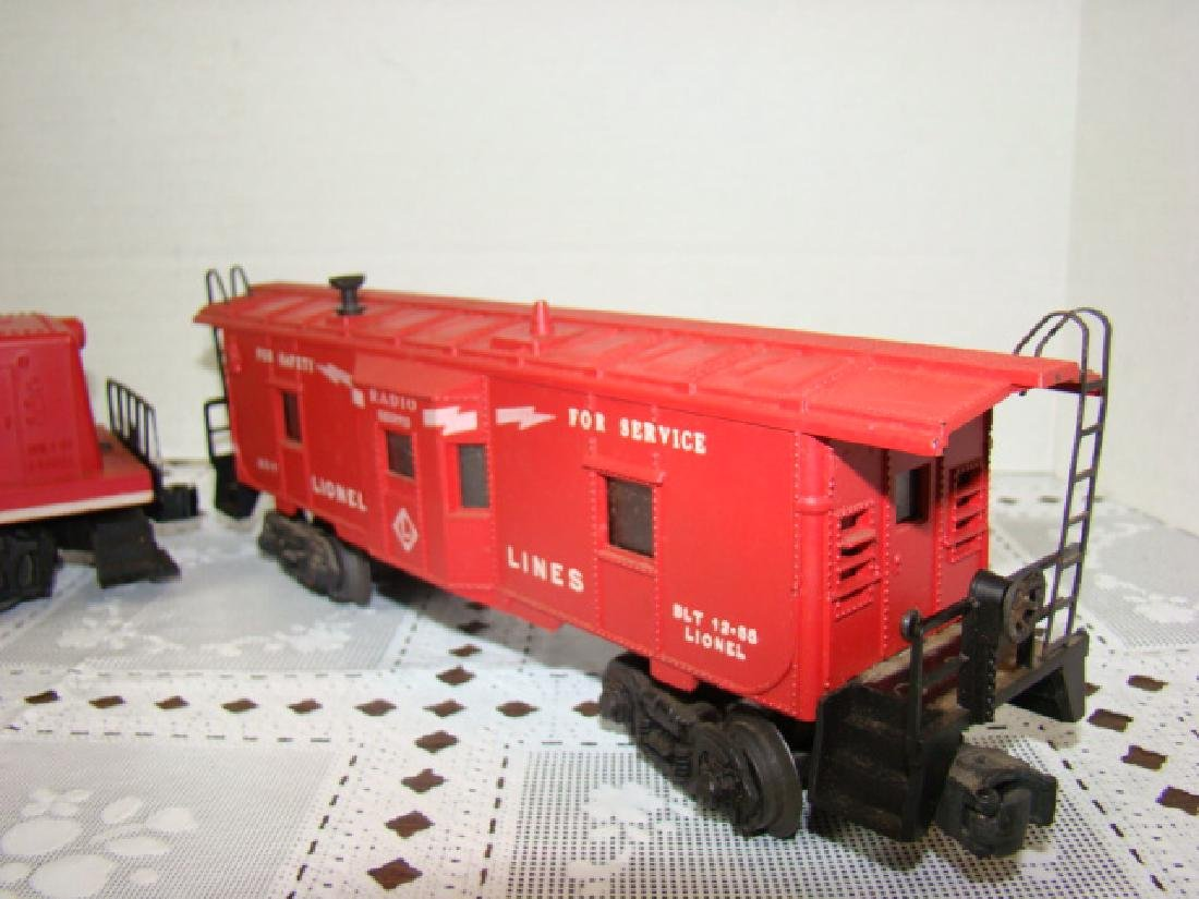 LIONEL TRAIN-BAY WINDOW CABOOSE & LEHIGH VALLEY - 3