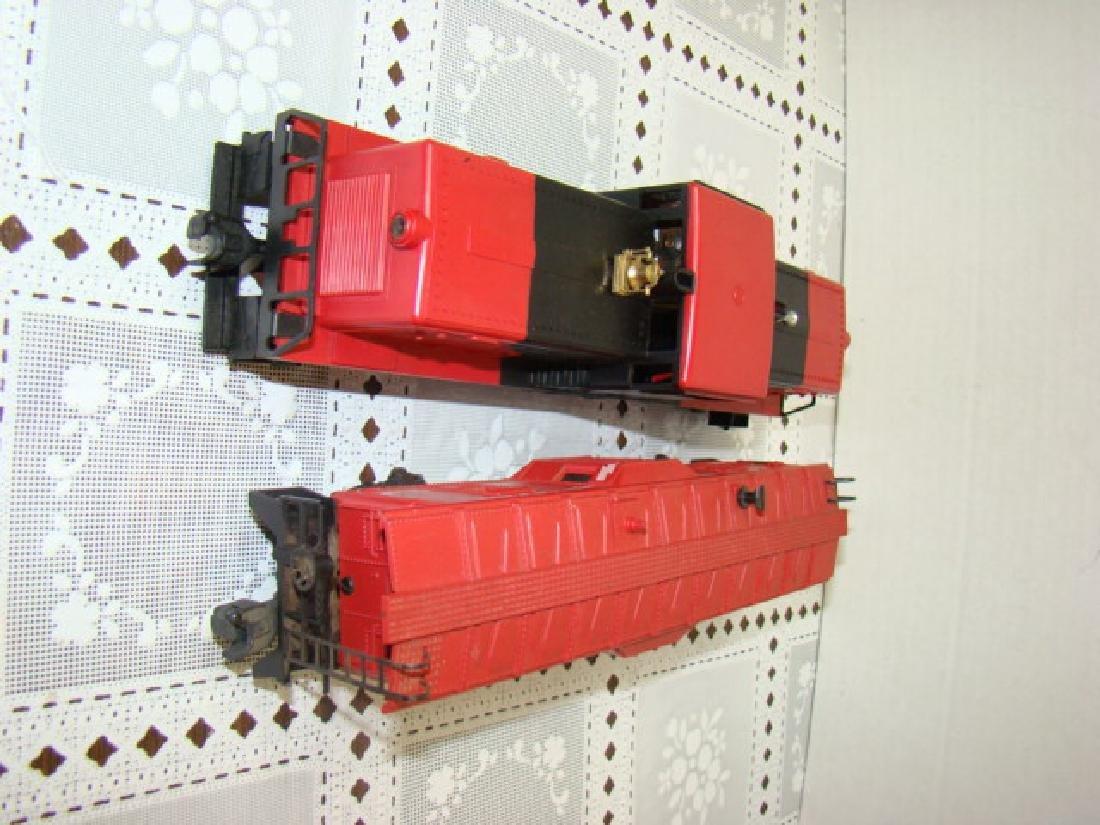 LIONEL TRAIN-BAY WINDOW CABOOSE & LEHIGH VALLEY - 4
