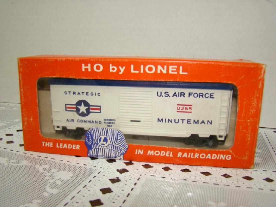 LIONEL HO MINUTEMAN MISSILE LAUNCHING CAR - NIB