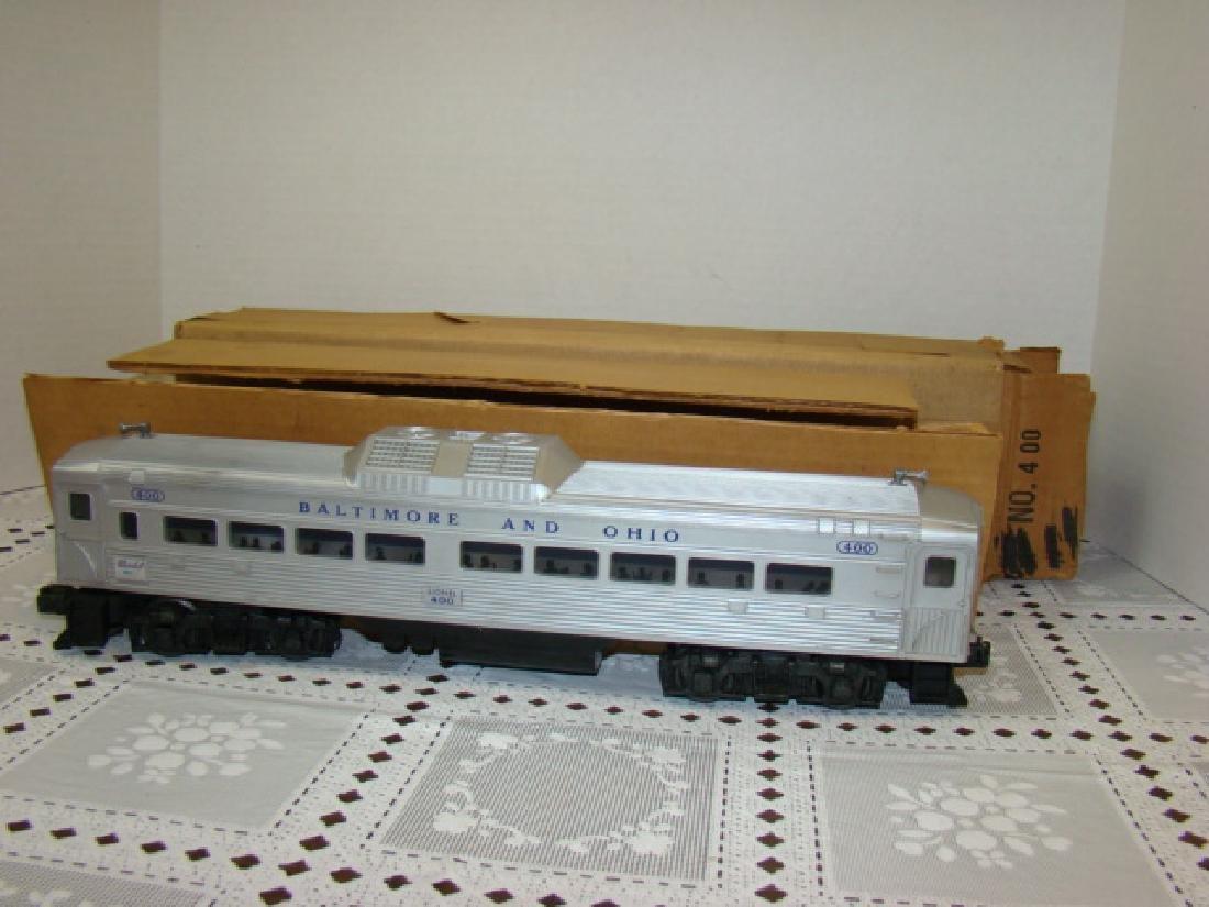 LIONEL TRAIN- BALTIMORE & OHIO PASSENGER TRAIN 400