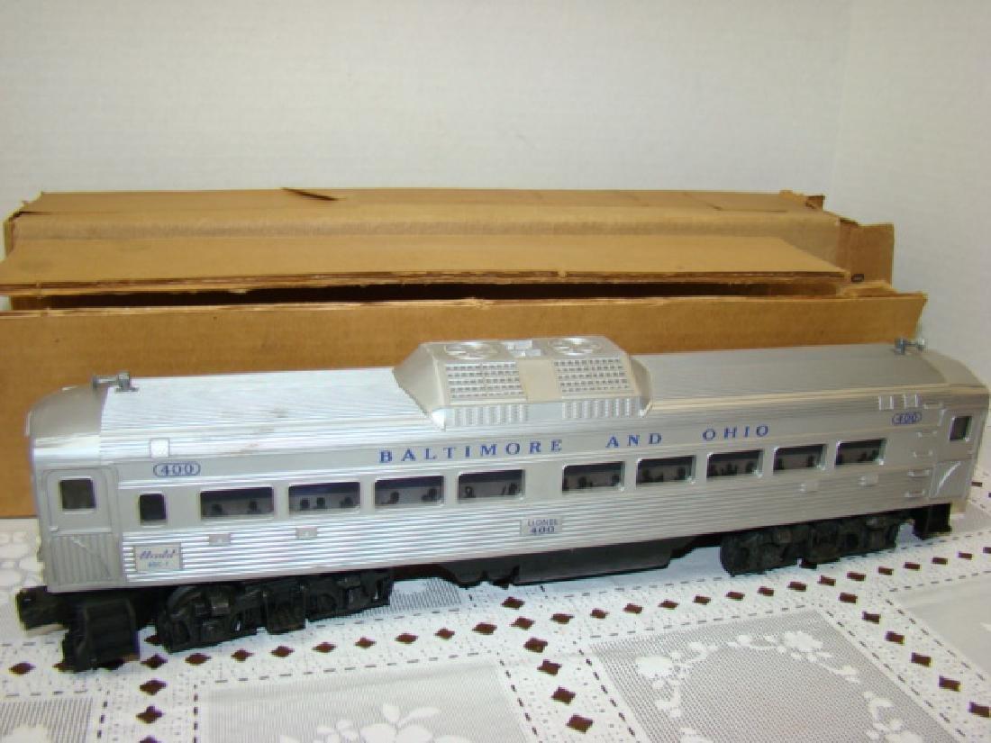 LIONEL TRAIN- BALTIMORE & OHIO PASSENGER TRAIN 400 - 2