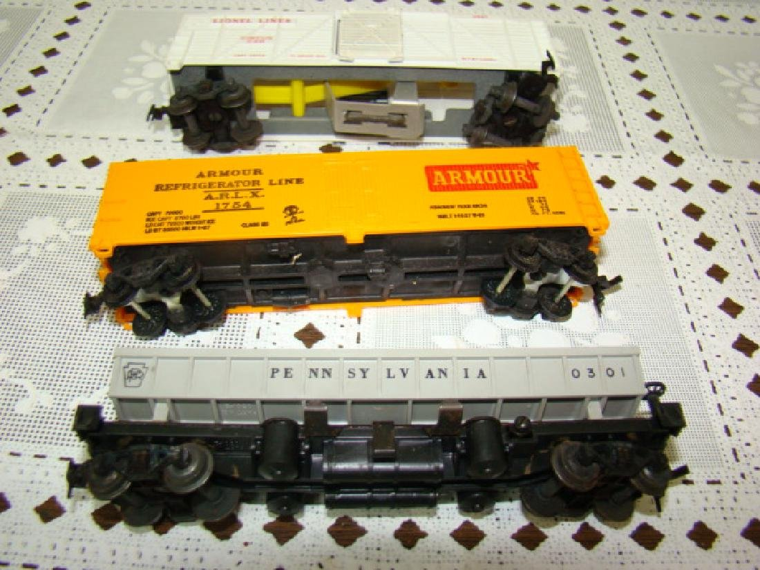 LIONEL HO SCALE CIRCUS CAR-OPERATING COAL DUMP - 5