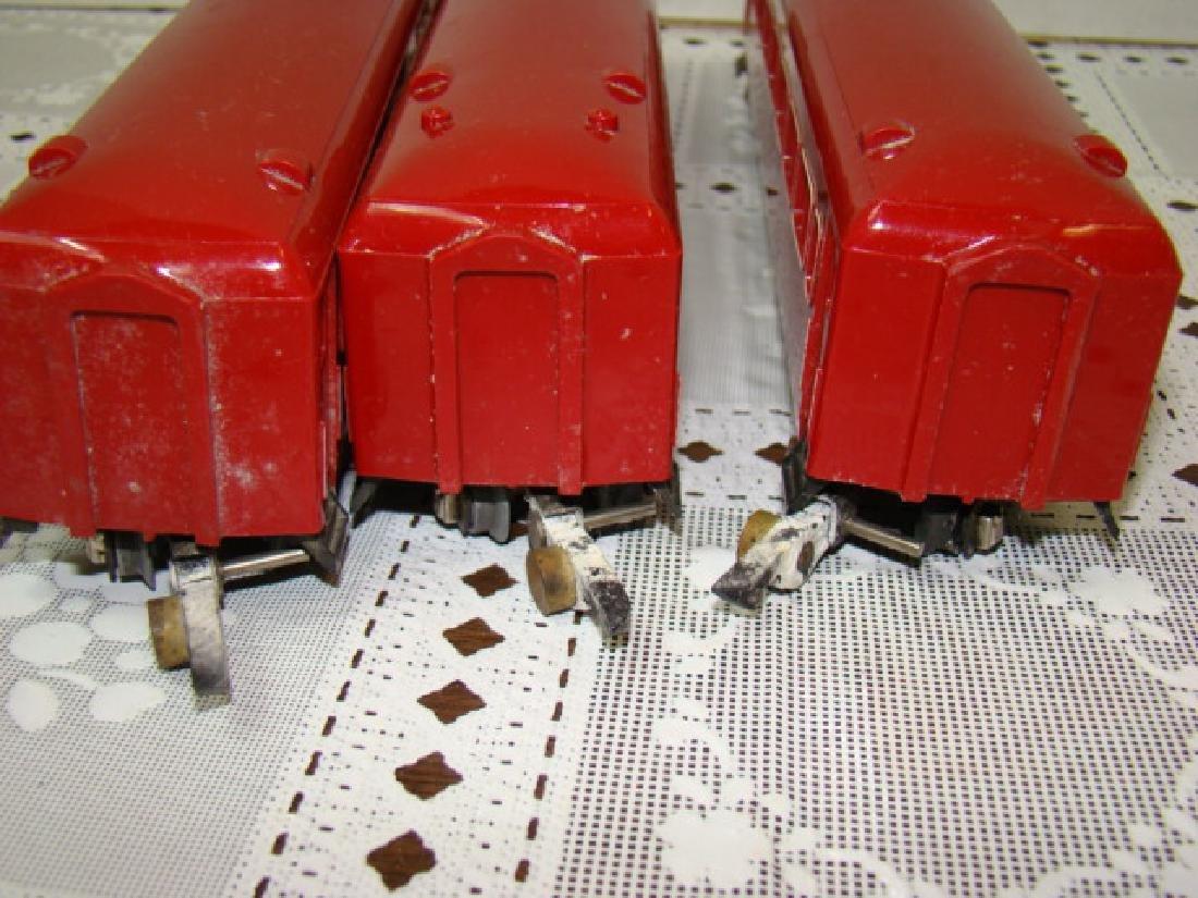 3 AMERICAN FLYER NEW HAVEN ILLUMINATED PASSENGER C - 6