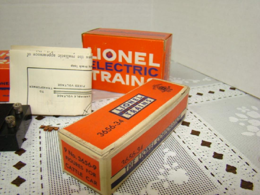 LIONEL TRAIN ACCESSORIES-UNCOUPLING TRACK SETS-CLE - 5