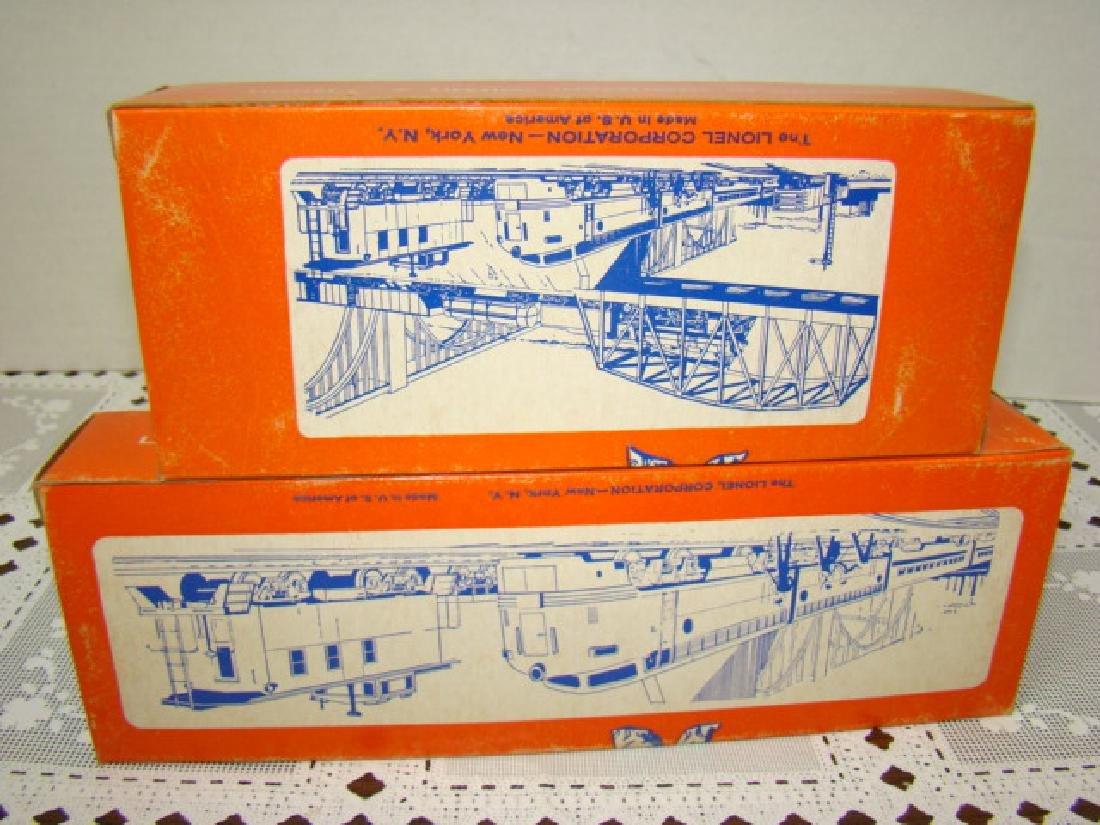LIONEL HO - SANTA FE BOX CAR & EMERGENCY GENERATOR - 5