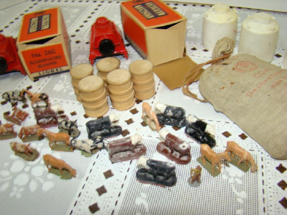 LIONEL CATTLE-HORSES-BUMPERS-COAL  & MORE - 6