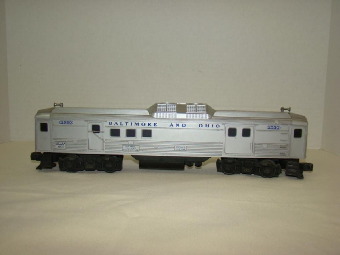 LIONEL 2550 B & O RAILWAY POST OFFICE CAR