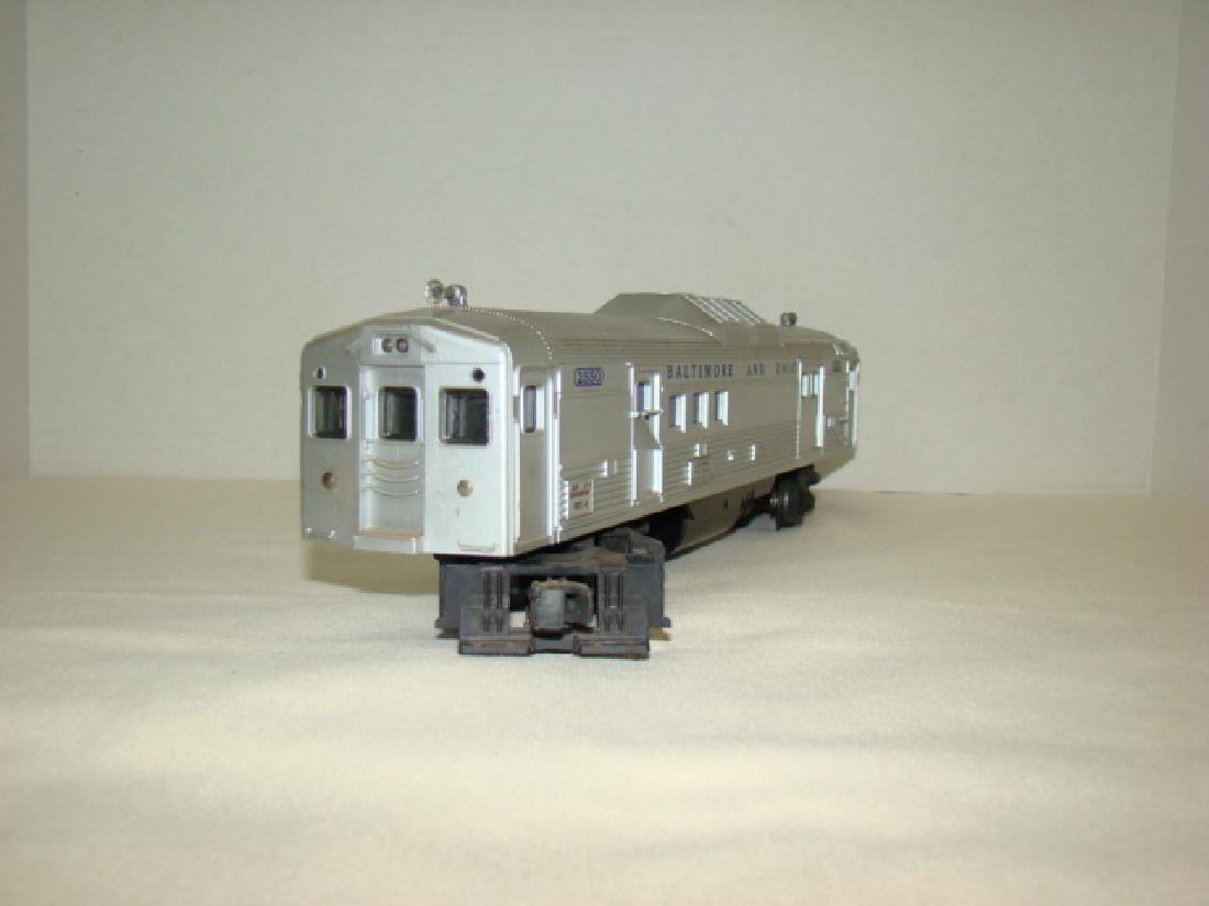 LIONEL 2550 B & O RAILWAY POST OFFICE CAR - 2