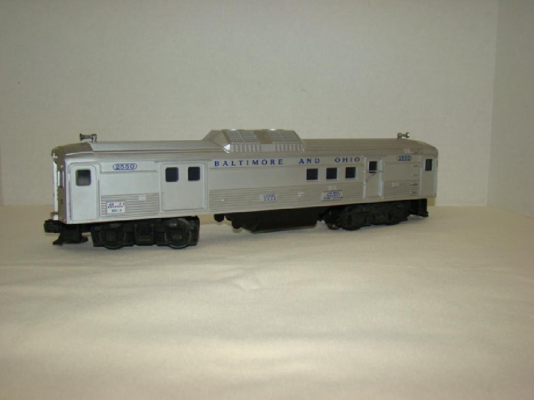 LIONEL 2550 B & O RAILWAY POST OFFICE CAR - 3