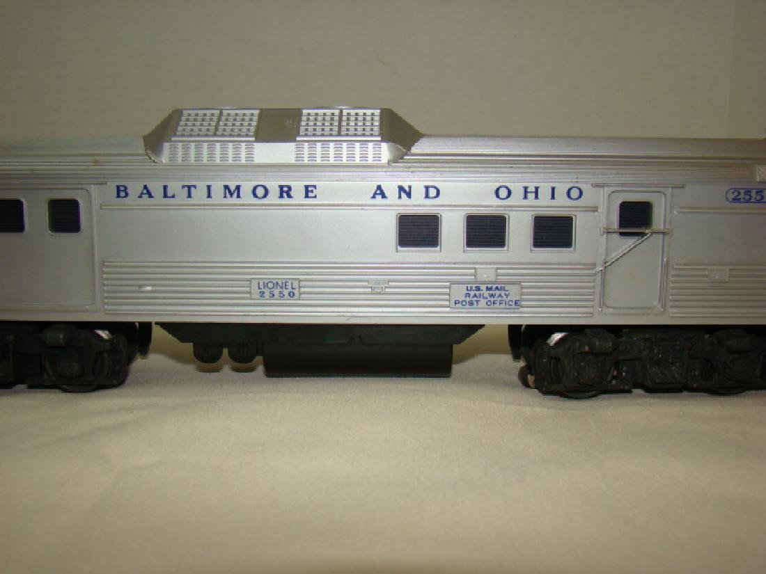 LIONEL 2550 B & O RAILWAY POST OFFICE CAR - 6